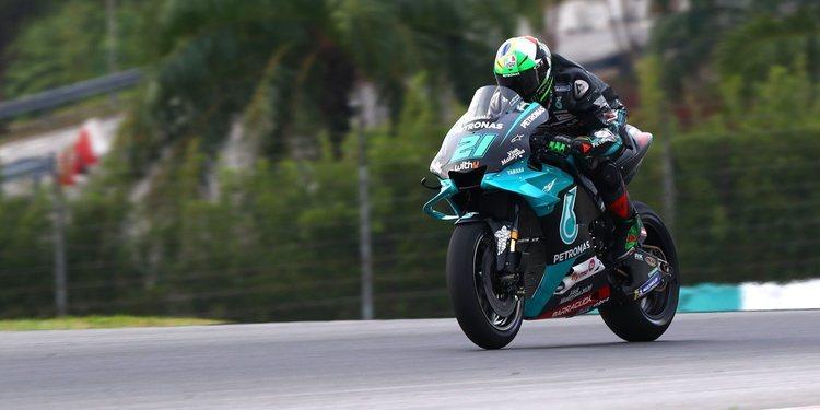 """Franco Morbidelli: """"siento que tengo buena confianza con la nueva moto"""""""