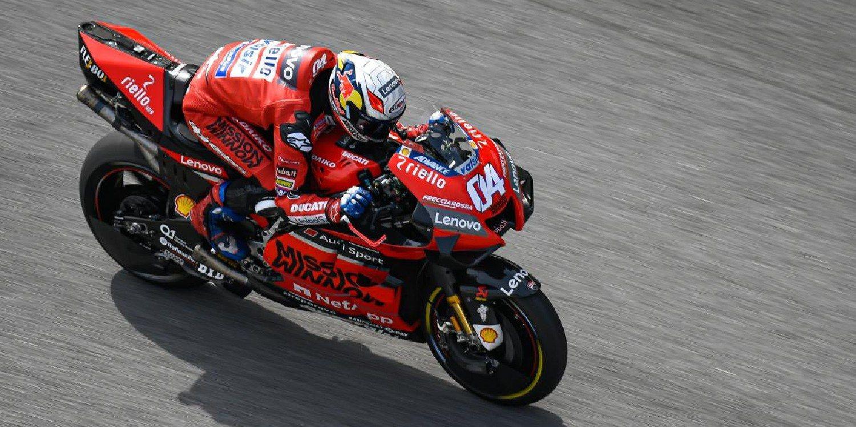 """Andrea Dovizioso: """"Márquez estará delante en Qatar, no tengo duda sobre eso"""""""