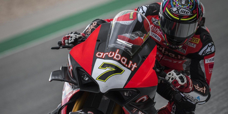 Ducati defiende a Chaz Davies ante las críticas