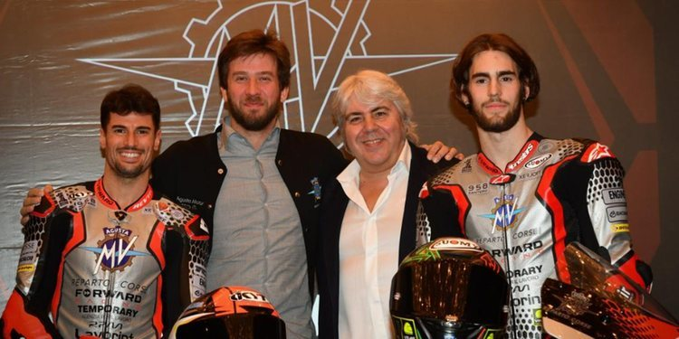 MV Agusta Forward Racing, lista para arrancar en Qatar