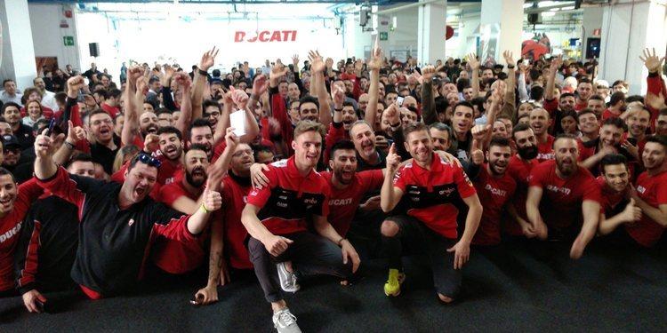 Aruba It Ducati, lista para el 2020