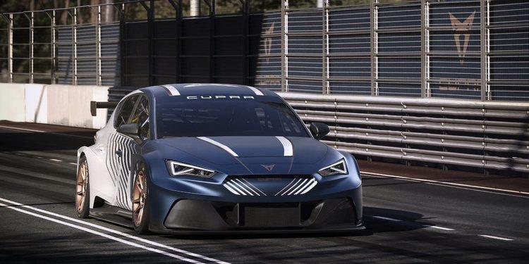 CUPRA presenta su coche para participar en el E-TCR