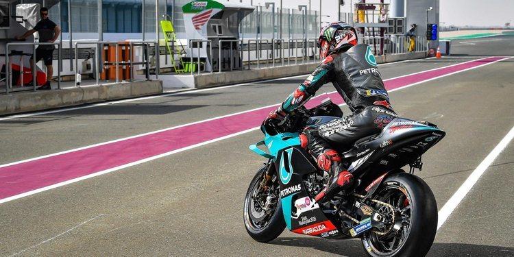 Fabio Quartararo vuelve a ser el más rápido en un día negro para Honda