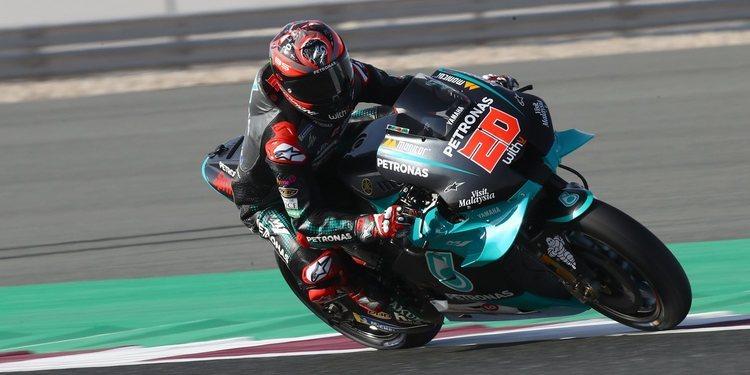 """Fabio Quartararo: """"Me sentí mejor en la moto y todavía tenemos un día más"""""""
