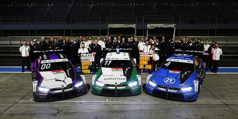 BMW confirma la distribución de pilotos en sus 3 equipos