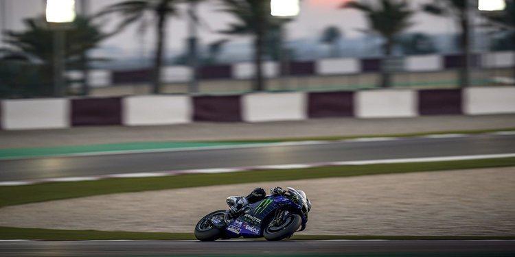 El equipo Yamaha Factory Racing muestra su decepción con la cancelación del Gran Premio de Qatar