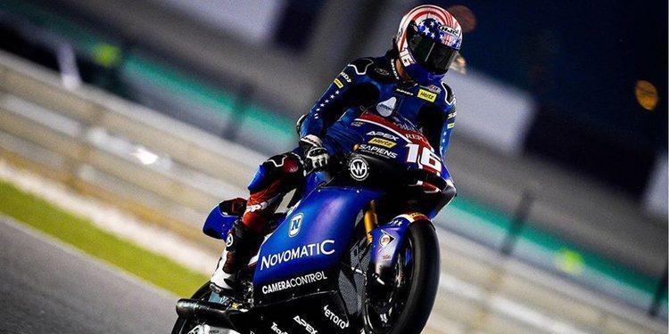 Joe Roberts se lleva una pole muy ajustada en Moto2