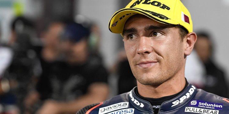 """Albert Arenas: """"Estoy muy contento tanto con el ritmo como con la moto"""""""