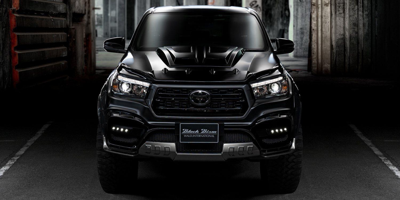 La Toyota Hilux Black Bison Edition de Wald
