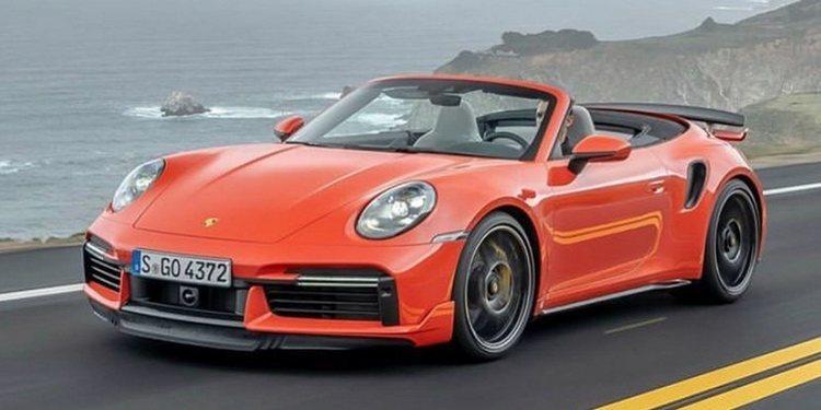 Porsche presentó el 911 Turbo S