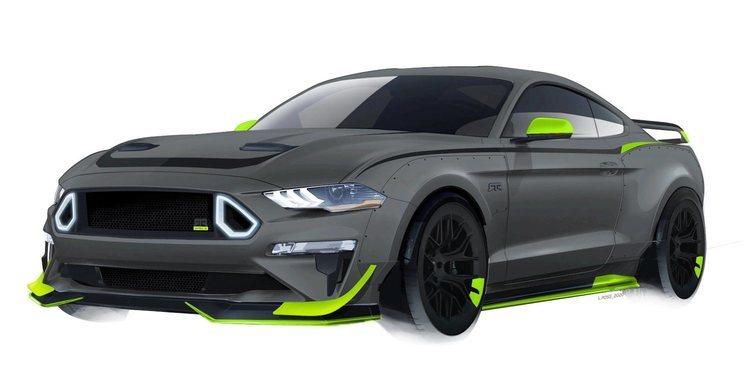 El Ford Mustang RTR de 750 hp