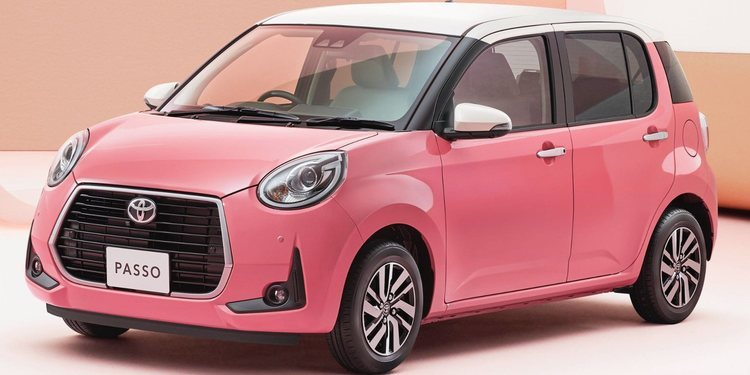 Toyota presentó el Encanto Passo Moda