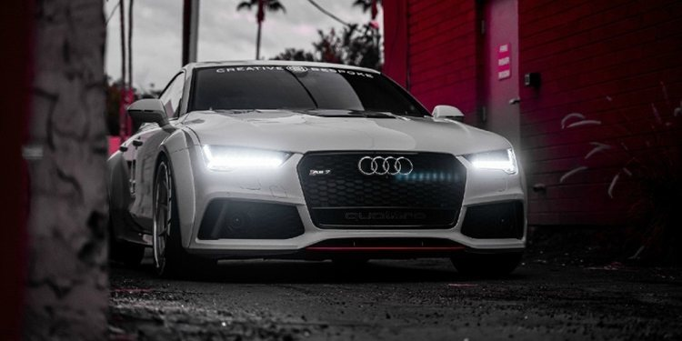 Sale a la venta un atractivo Audi RS7