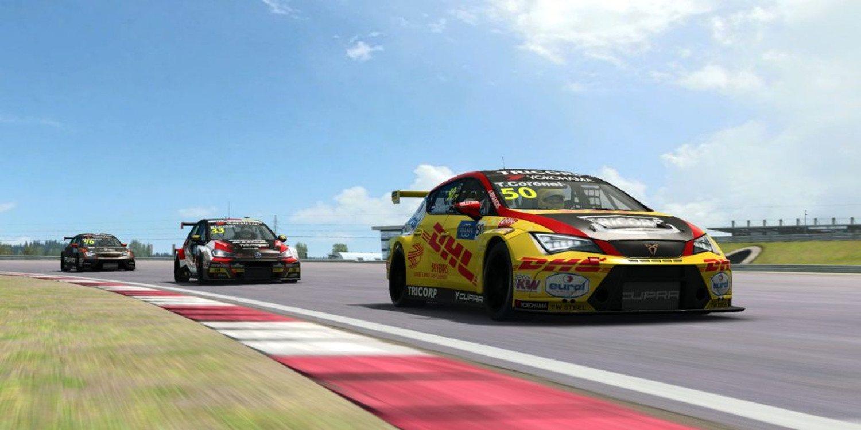 Baldi y Banki se llevan la tercera y cuarta carrera del #RaceAtHome