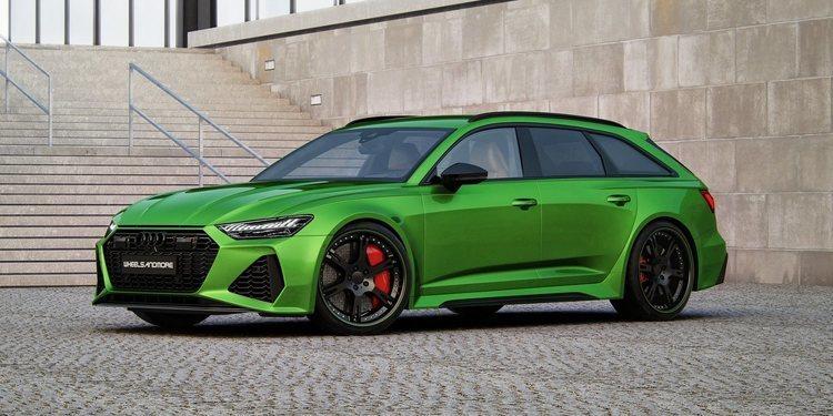El Audi RS 6 Avant de Wheelsandmore