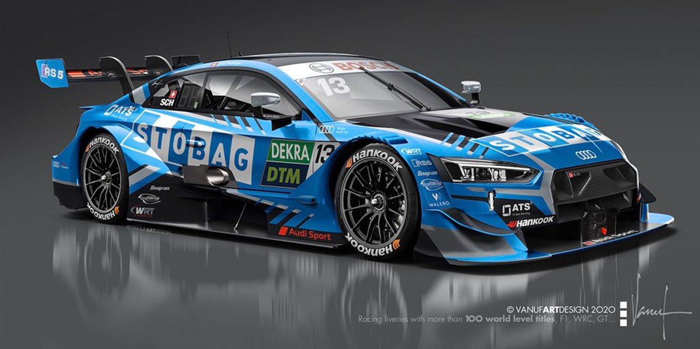 WRT Racing presenta la decoración que lucirá Scherer