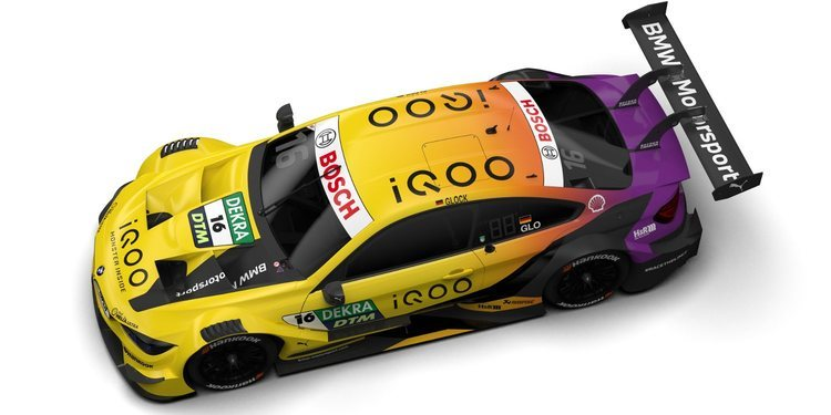 BMW prresenta sus seis coches que disputarán el DTM 2020