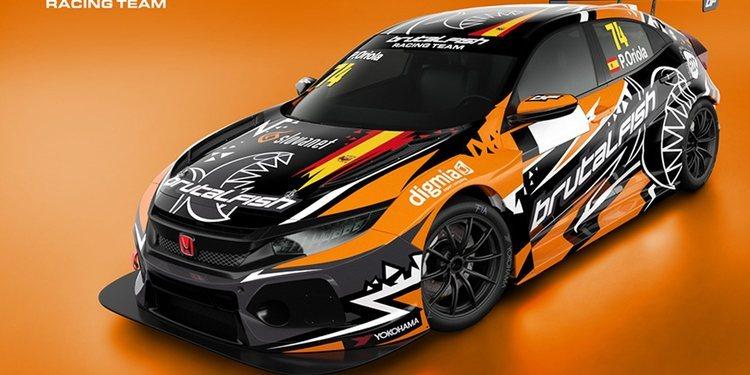 Pepe Oriola correrá con Brutal Fish Racing en el TCR Europe