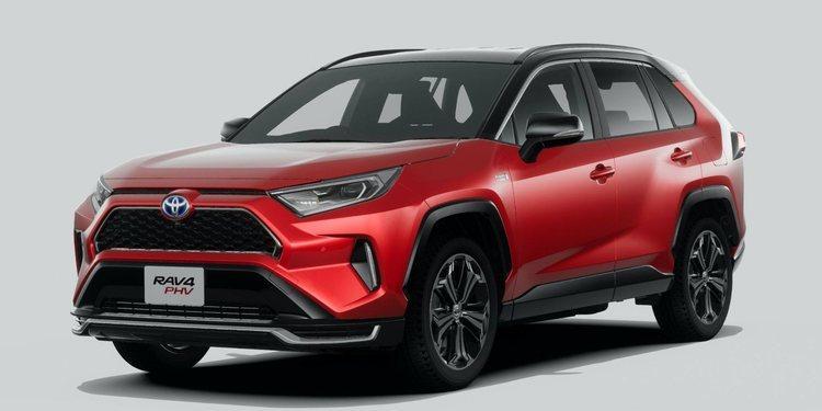 Toyota presenta un RAV4 PHV 2021 híbrido