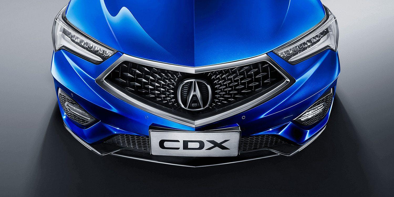 El Acura CDX se actualiza en China