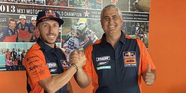 Tony Cairoli anuncia su renovación con KTM
