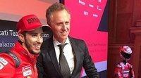 """Batistella: """"Ducati prefiere esperar algunas carreras antes de comenzar la negociación con Dovizioso"""""""
