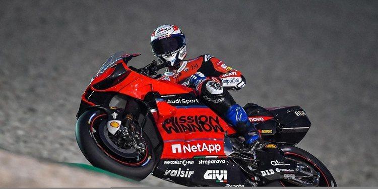 Andrea Dovizioso es declarado apto y podrá salir a pista en los test de mañana