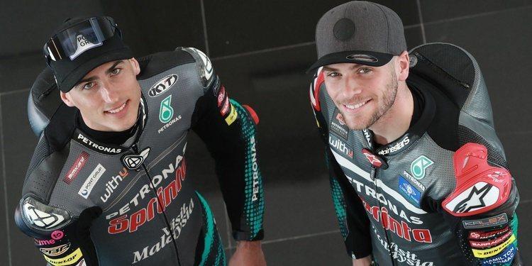 Los pilotos del PETRONAS Sprinta Racing Moto2 establecen sus objetivos