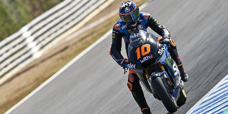 "Luca Marini: ""El calor es difícil de controlar, pero el ritmo es bueno"""