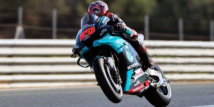 Pole y récord de Fabio Quartararo en Jerez