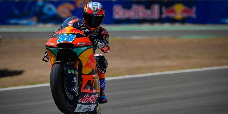 Los protagonistas de Moto2 valoran la sesión de clasificación
