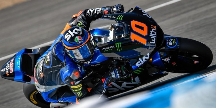 Moto2 vuelve con victoria de Luca Marini