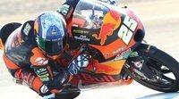Los pilotos de Moto3 hablan tras el viernes en Jerez
