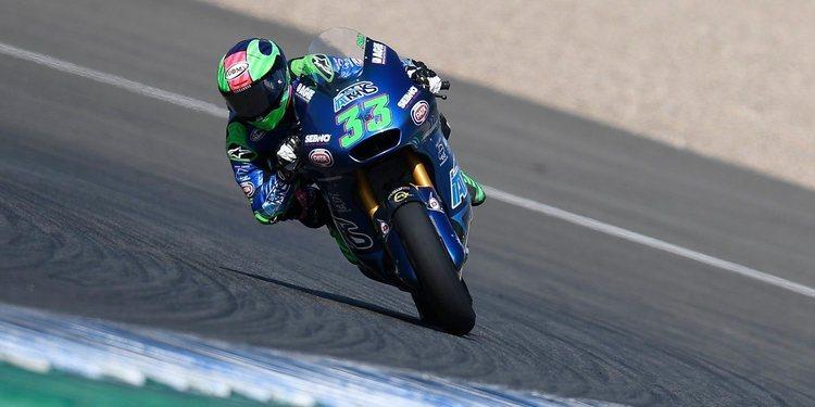 Triplete italiano con Bastianini al frente en el Gran Premio de Andalucía de Moto2