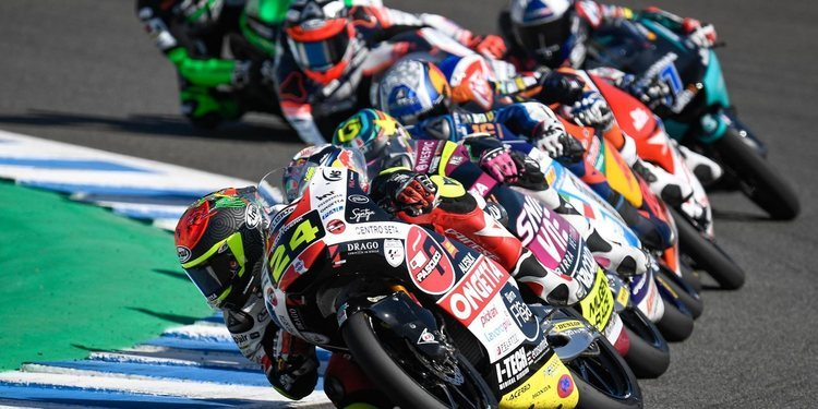 Tatsuki Suzuki logra la victoria de Moto3 en el Gran Premio de Andalucía