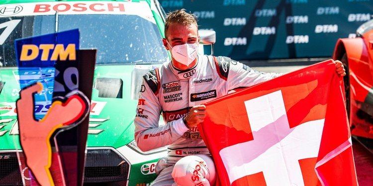 Nico Müller gana la primera carrera del DTM 2020