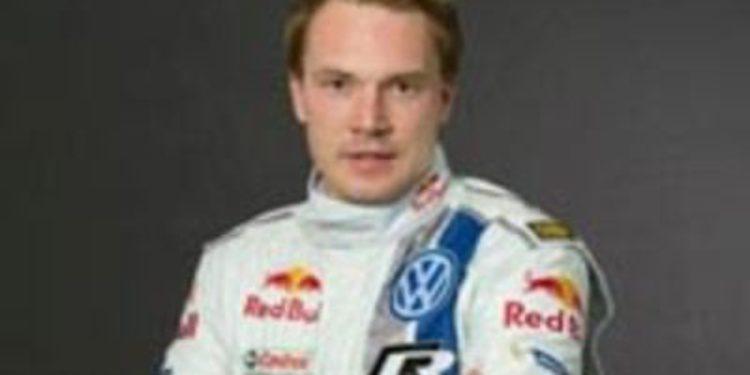 Jari-Matti Latvala estrena oficialmente los colores de Volkswagen