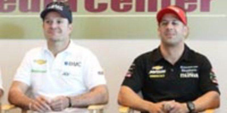 Barrichello y Tony Kanaan en Daytona, Zanardi se lo plantea