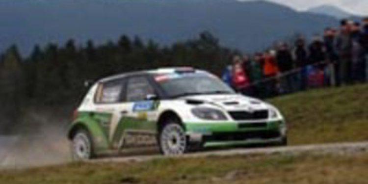 Jan Kopecký lidera tras la 1ª etapa del Jänner Rally