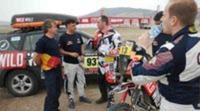 Gerard Farrés tiene invitados en su último test previo al Dakar