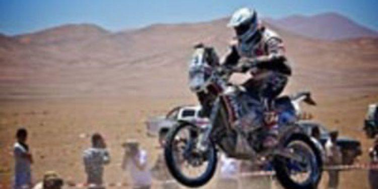 Ignacio Corcuera y P.A. Busín primeros abandonos en el Dakar 2013