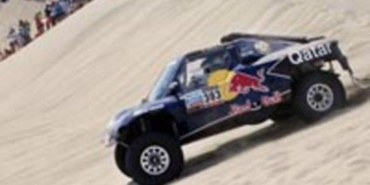 Carlos Sainz no se ve luchando por la general del Dakar 2013