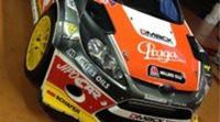 Martin Prokop enseña su Ford Fiesta RS WRC para el Monte-Carlo
