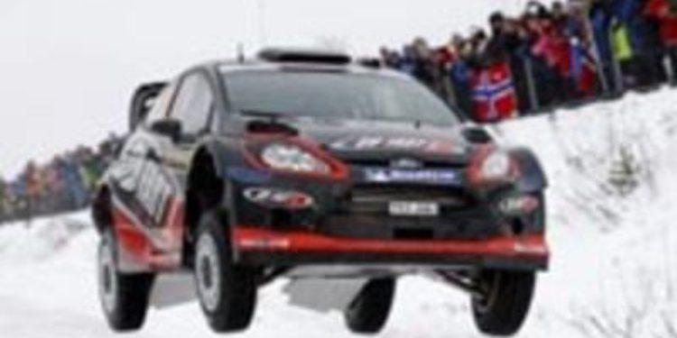 Henning Solberg se suma al Rally de Suecia con un Ford Fiesta WRC