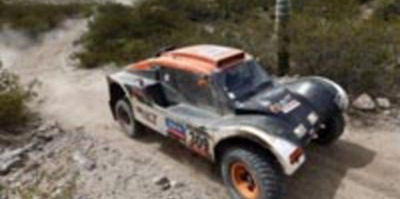 Dakar 2013, etapa 8: Barreda suma en el despiste general. Chicherit consigue una especial de locos