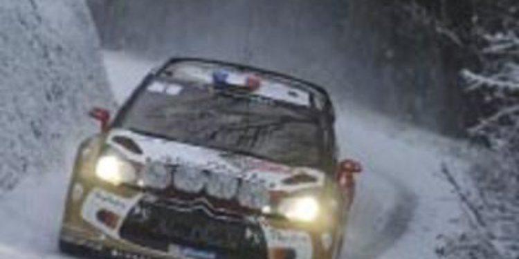 Thierry Neuville comanda el shakedown del Rally de Monte-Carlo 2013