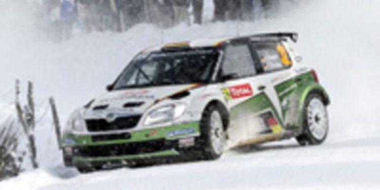 M-Sport recoge las migajas de Loeb en la etapa 2 del Rally de Monte-Carlo 2013