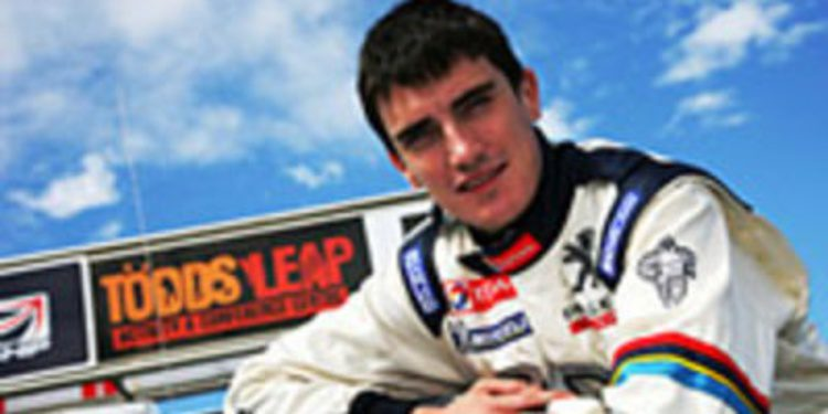 Craig Breen se convierte en piloto oficial Peugeot en el ERC