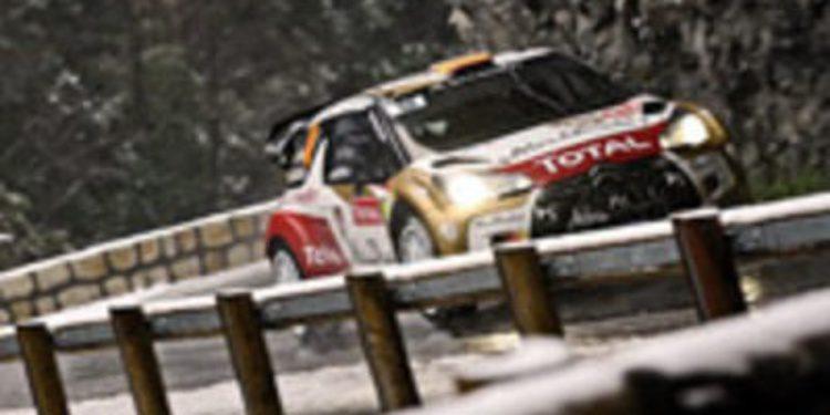 Sebastien Loeb se anota su séptima victoria en el Rally de Monte-Carlo 2013