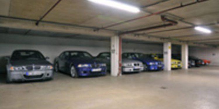 El garaje secreto de BMW